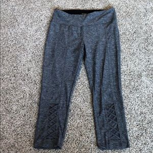 Gray work out pants
